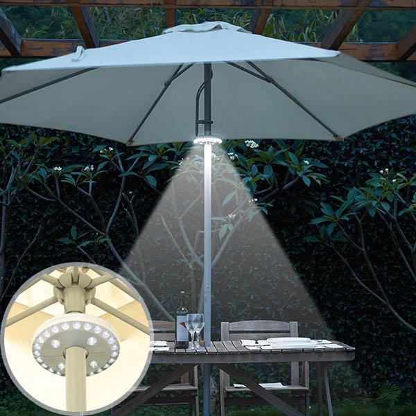 Super Bright Patio LED Umbrella Light - A Must Have for Outdoor Activities!