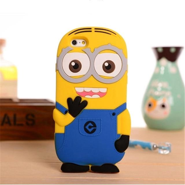 3D Cartoon Soft Silicone Phone Case For iPhone6 6S 7 8 Plus X XS