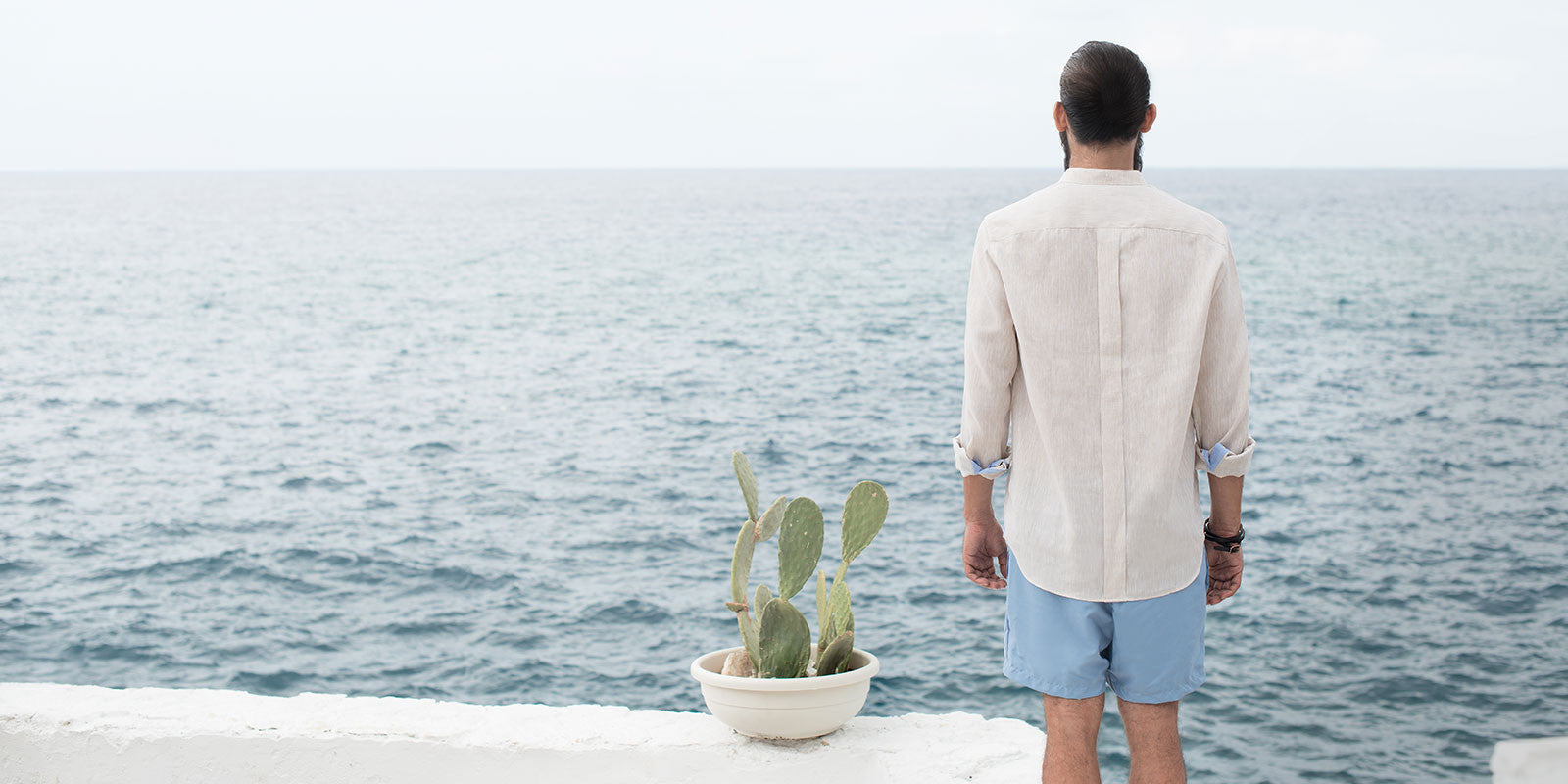 Essential and Coreana Linen shirt