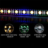 4-Pack, OPPSK 100W 3in1 Multi-effect DJ LED Light Bar