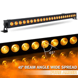 6-Pack, OPPSK 24x4W RGBA 4in1 Indoor LED Wall Washer Light for Wedding Uplighting 40''