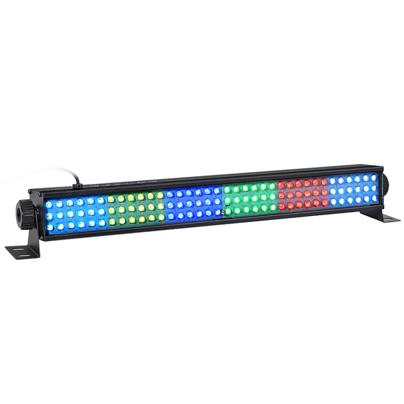 1Pack (12pcs) OPPSK 25W 108LED RGB 3in1 DMX512 Indoor Up lighting LED Linear Background Effect Light