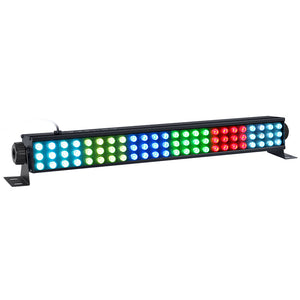 1 Pack (12pcs) 36W 72LED RGB 3in1 DMX512 Indoor LED Linear Bar Wall Washer Light