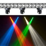 4-Pack, OPPSK 2x10w Dual-side RGBW 4in1 DJ Mini LED Move Head Beam Stage Light