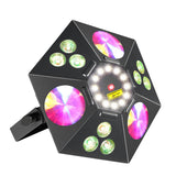 4-Pack, OPPSK 90W Multi-Effect Disco Light RGBW 4in LED Beam Light Laser DJ Lighting for Party Club KTV