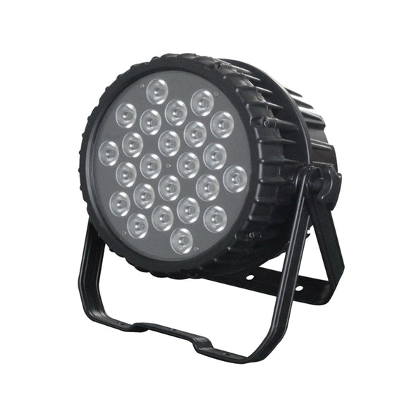 24x15W RGBWUV 5in1 IP65 Waterproof Stage Lighting Outdoor LED Par Can Light for Wedding Event Party