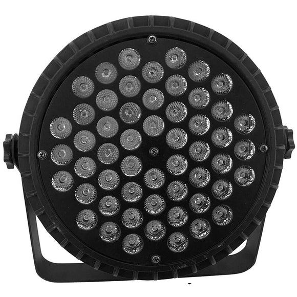 8-Pack, 54x3W RGBW Mixed Color Aluminum Housing LED Par Light