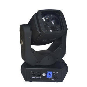 2-Pack, 4x25W LED Sharpy Beam Moving Head Light