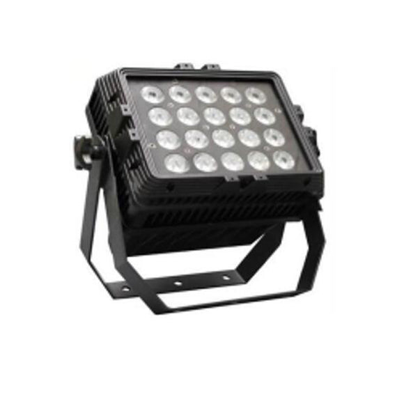 4-Pack, OPPSK 24x15W RGBWA 5in1 Waterproof Outdoor LED Par Stage Lighting