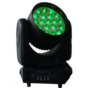 19x12W 4in1 RGBW Zoom LED Beam Moving Head Light