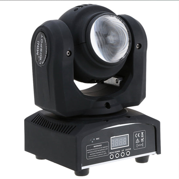2x10w Dual-side RGBW 4in1 DJ Mini LED Move Head Beam Stage Light