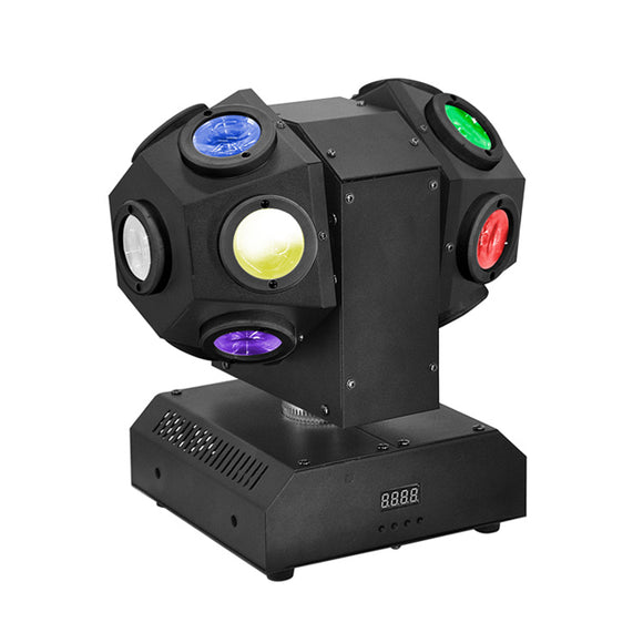 14x10W Double Heads RGBW 4in1 Mini LED Sharpy Beam Moving Head Light