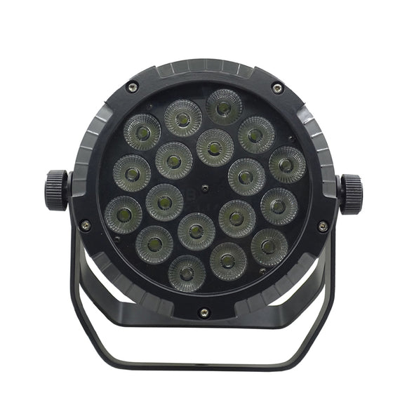4-Pack, 18x15W RGBW UV 5in1 IP65 Stage Lighting Outdoor Waterproof LED Par Light