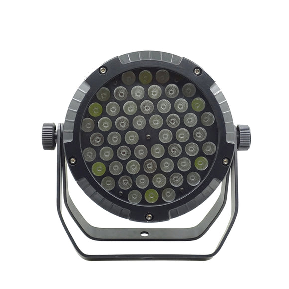 54x4W RGBW 4in1 Outdoor DJ Wedding Uplight IP65 Waterproof LED Flat Par Stage Light