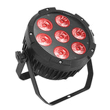 1Pack (4pcs) 7x15W RGBAW 5in1 Outdoor Mini DJ Stage Lighting IP65 Waterproof LED Par Can Light for Concert Event Party