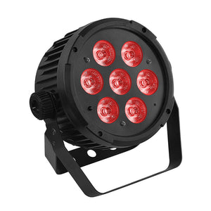 12-Pack, OPPSK 7x8W RGBWA 5in1 LED Par Stage Light for Wedding uplight