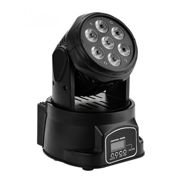 4-Pack, OPPSK 7x10W 4in1 RGBW 4KG CE RoHs Mini LED DJ Night Club Light Small Moving Head Wash Light