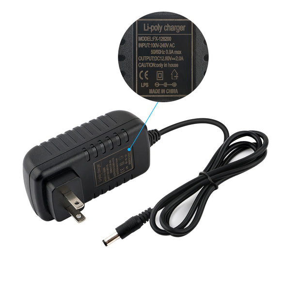 Li-poly charger adaptor