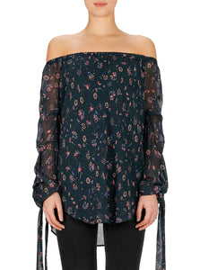 Accidental Allure Silk Bustier Top
