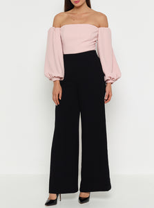Borderline Off Shoulder Tailored Top