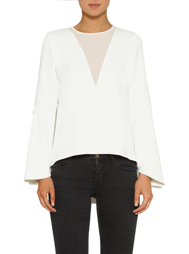 Day To Night Button Cuff Top