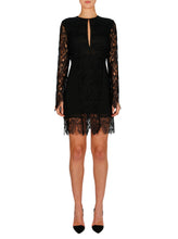 Load image into Gallery viewer, Edge Of The Night Long Sleeve Dress