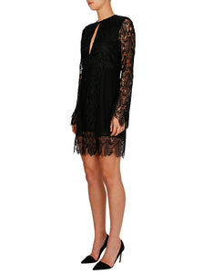 Edge Of The Night Long Sleeve Dress