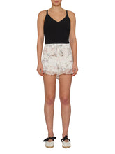 Load image into Gallery viewer, Higher Ground Silk Double Ruffle Shorts