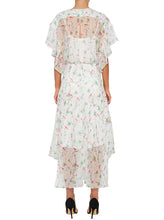 Load image into Gallery viewer, Flowerfield Silk Maxi Dress