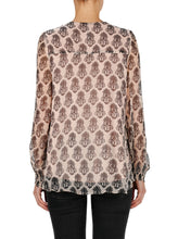 Load image into Gallery viewer, Flower Motif Long Sleeve Top