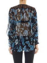Load image into Gallery viewer, La Boheme Silk Batwing Blouse