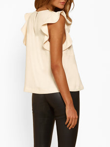 Borderline Split Hem Top