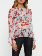 Load image into Gallery viewer, These Dreams Silk Slim Long-Sleeve Top