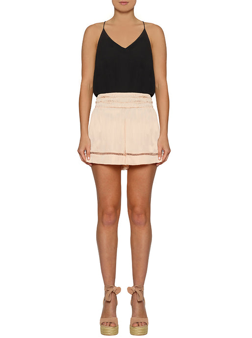 Look Twice Shirred Waist Short