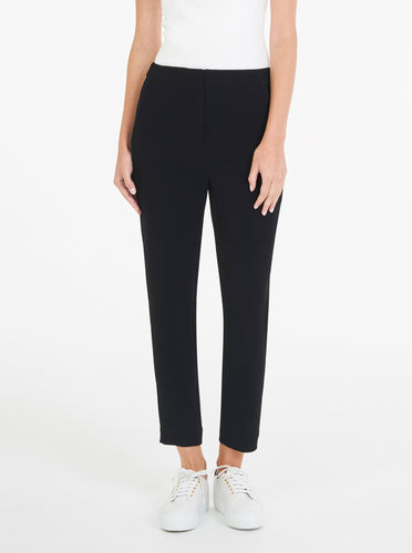 Borderline Drop Crotch Pant With Stripe