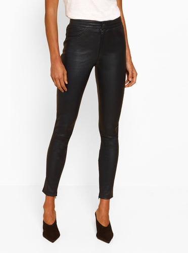 Pure Iconic Leather Skinny Pant
