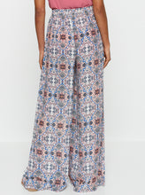 Load image into Gallery viewer, Positano Silk High Waisted Wide Leg Pant