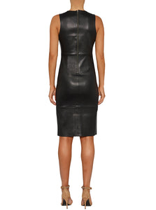 Pure Iconic Stretch Leather Dress
