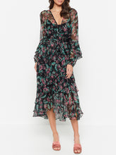Load image into Gallery viewer, The Real You Silk Maxi Dress