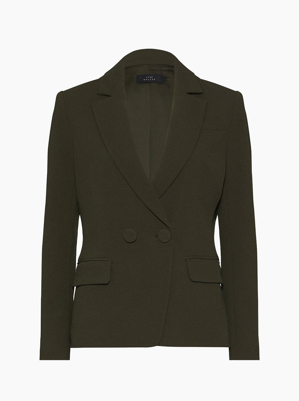Borderline Structured Double-Breasted Jacket