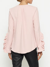 Load image into Gallery viewer, Borderline Ruffle L/S Blouse