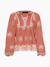 Load image into Gallery viewer, She's With Me L/S Peasant Blouse