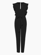 Load image into Gallery viewer, Borderline V-Neck Jumpsuit