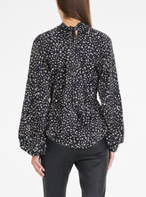 Load image into Gallery viewer, Luxe Silk Printed High Neck Top