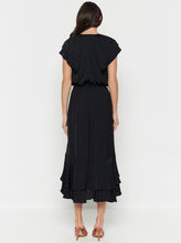 Load image into Gallery viewer, Look Twice Double Ruffle Midi Dress
