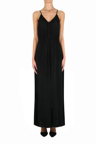 Look Twice Tie Back Maxi Dress