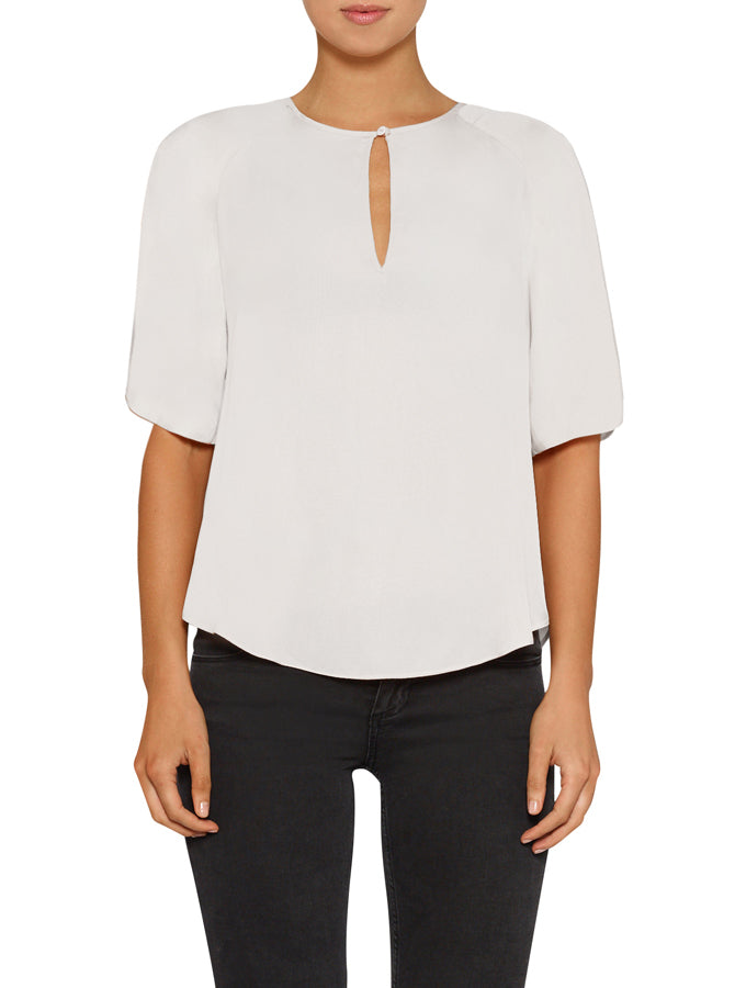 Look Twice Split Sleeve Top