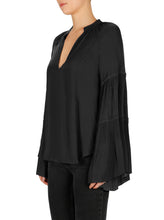 Load image into Gallery viewer, Look Twice Sunray Pleat Blouse