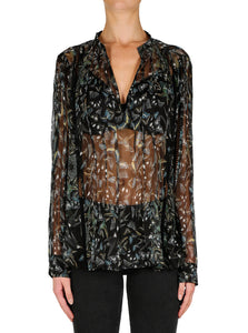 Metamorphosis Silk Blouse