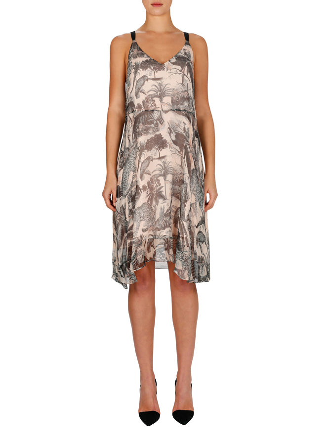 Psycho Jungle Slip Dress
